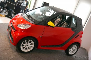 Smart выпустит особую версию ForTwo Electric Drive – Disney Edition