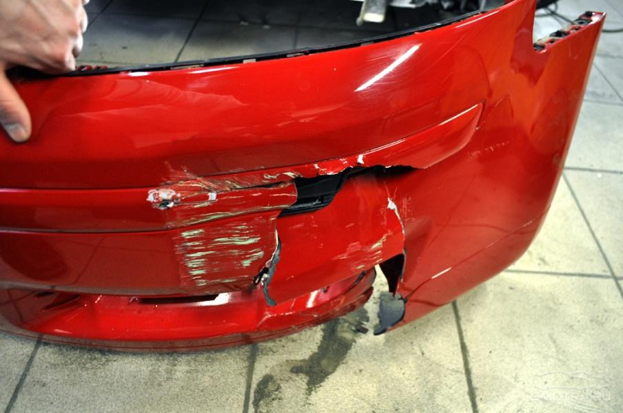 """Как отремонтировать бампер при повреждении """" CarFans - концептуальные и ретро автомобили"""